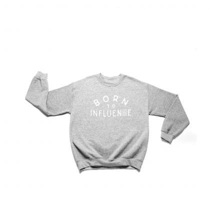 COLONY OF REBELS - Born To Influence Crewneck Sweatshirt