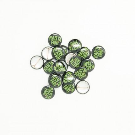 RASTAFARI Button Pin