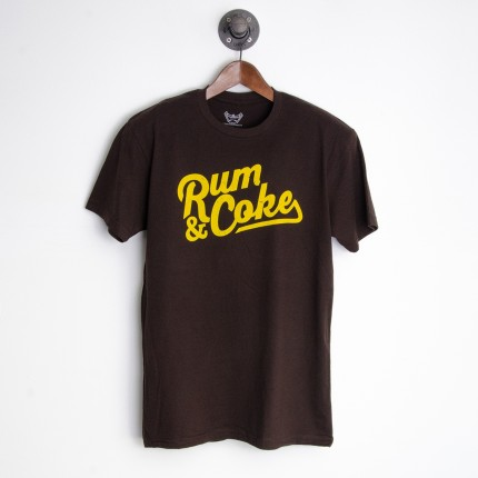 CRAZY COMMONWEALTH - Rum & Coke T-Shirt