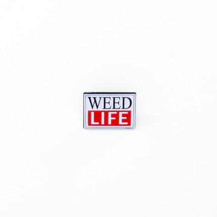 Enamel Pin WEED LIFE