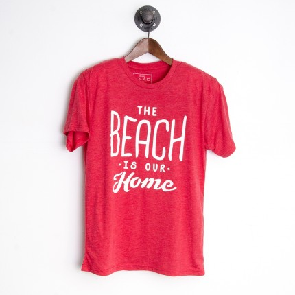 SIMPLY YAAD - Beach Is Our Home T-Shirt