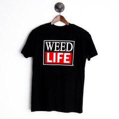 CRAZY COMMONWEALTH - Parody Weed Life T-Shirt