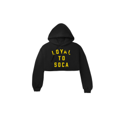 LOYAL TO SOCA CROP HOODIE